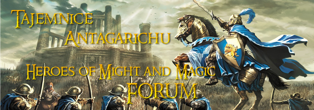Tajemnice Antagarichu | Heroes 1,2,3,4,5,6,7 Forum