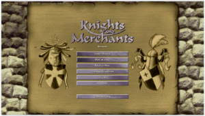 knights and merchants - start