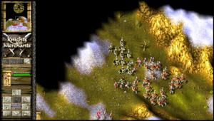 knights and merchants - walka