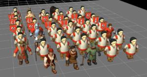 knights province - jednostki