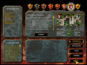 Europa Universalis II - menu