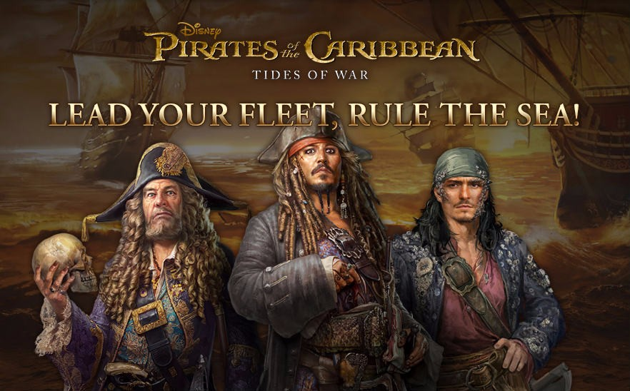 Pirates of the Caribbean - Tides of War