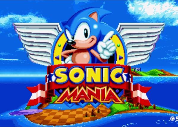 Sonic Mania - tryb rywalizacji