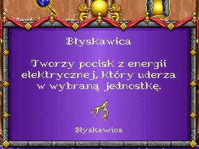 heroes 1 czary - Błyskawica