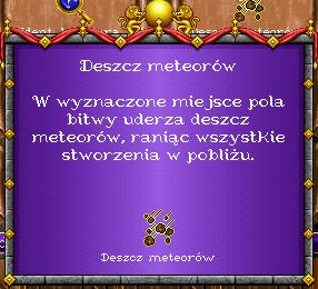 heroes 1 czary - Deszcz Meteorów