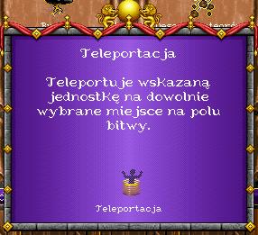 heroes 1 czary - Teleportacja