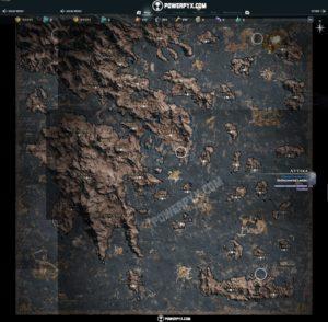Assassin's Creed Odyssey mapa