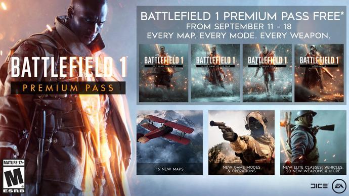darmowe battlefield 1 premium