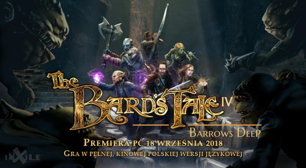 Bard's Tale IV premiera