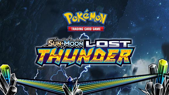 pokemon sun & moon lost thunder