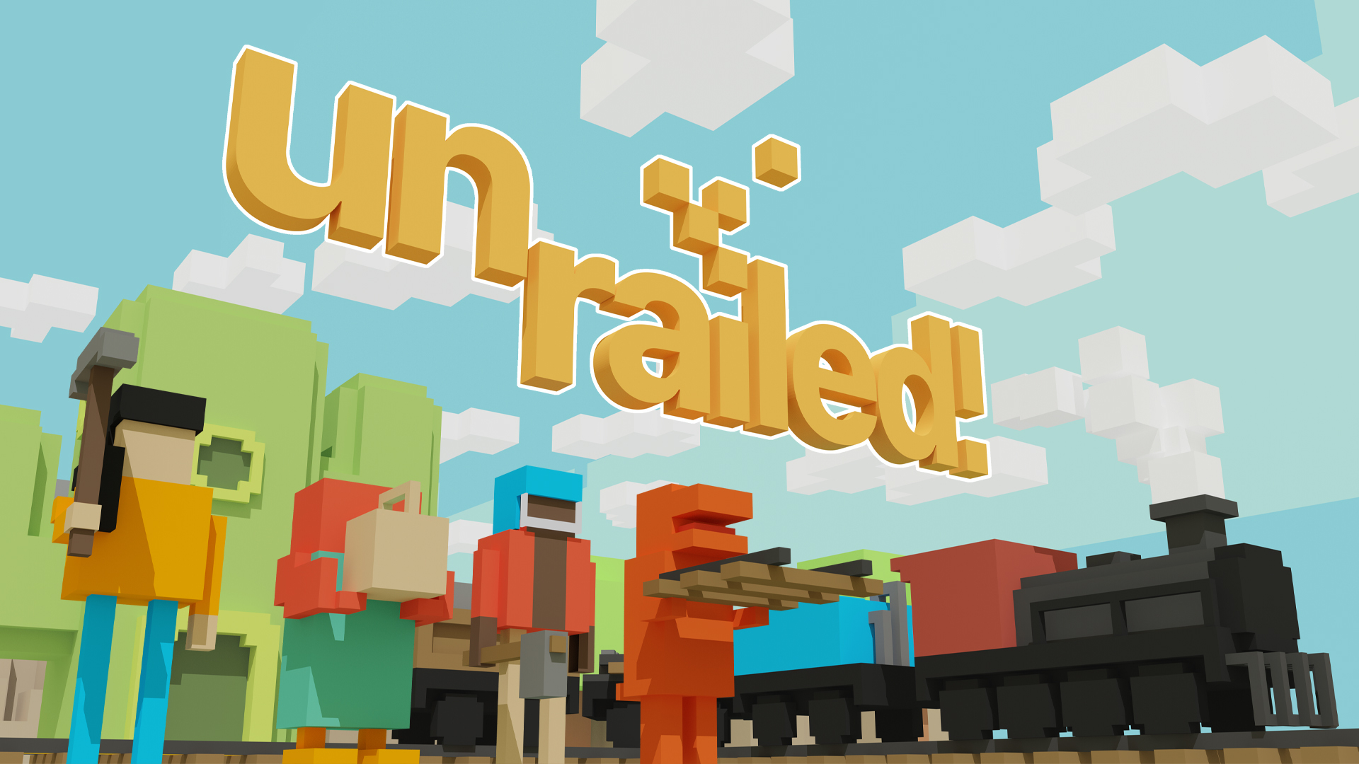 unrailed! trailer