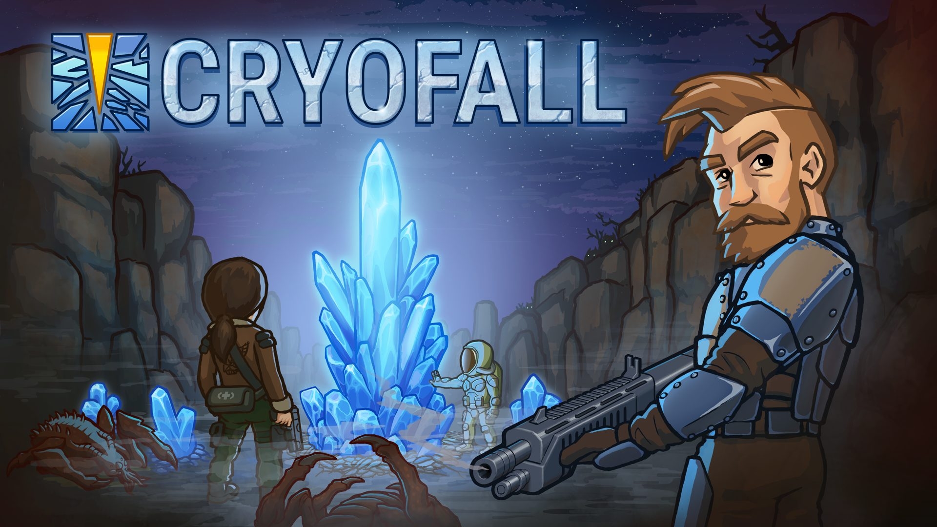Cryofall Keyart