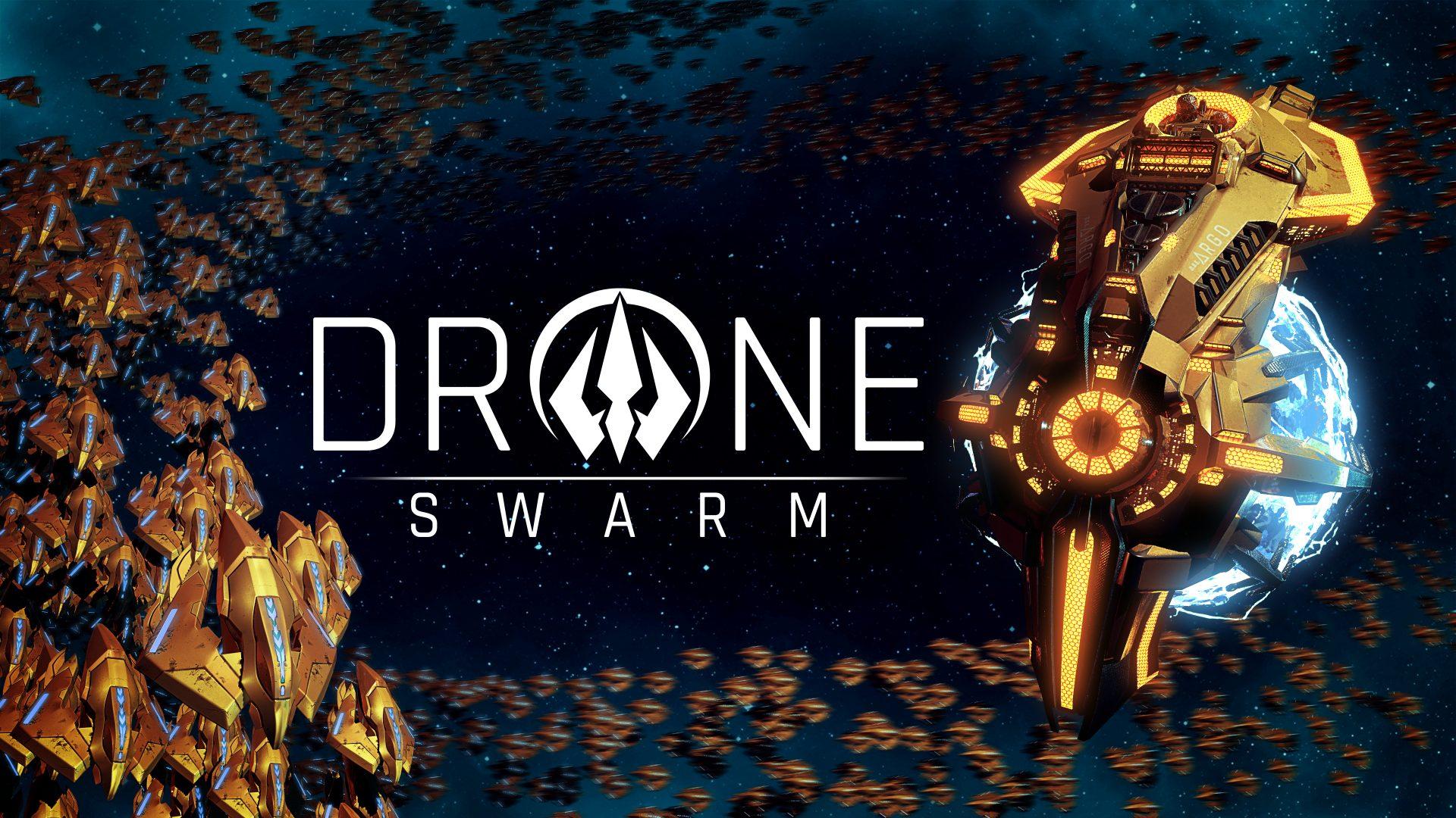 Drone Swarm Art