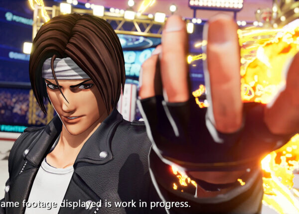 KOF XV screen
