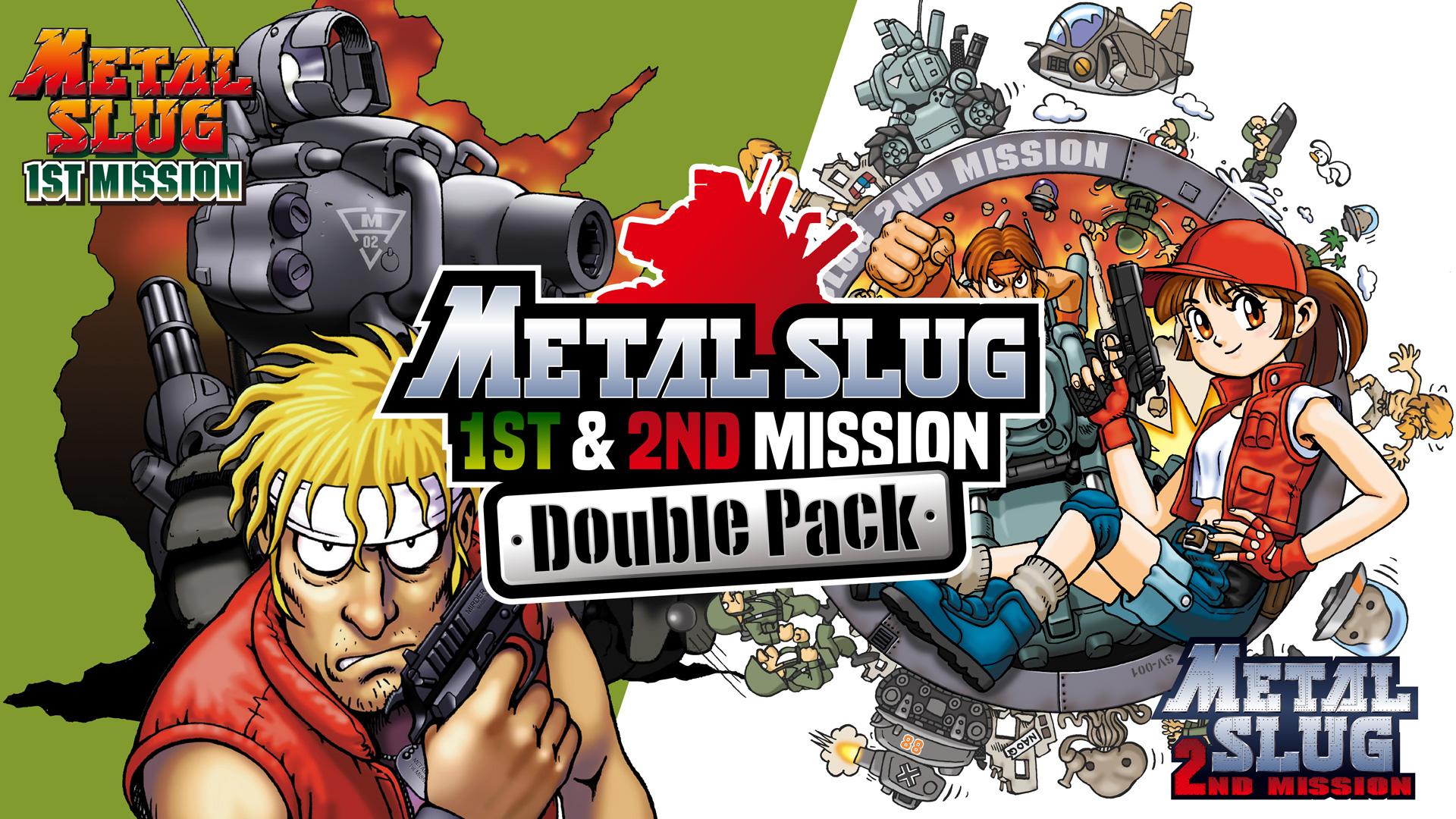 metal slug 1st & 2nd mission double pack